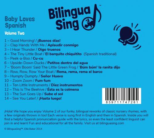 Baby Spanish music