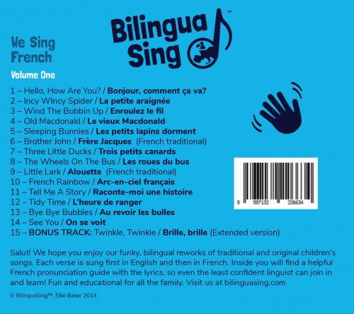 French for preschool songs