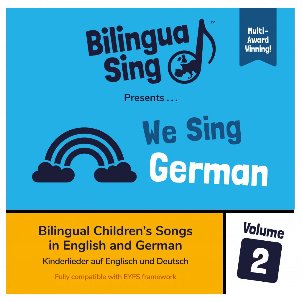 We sing German