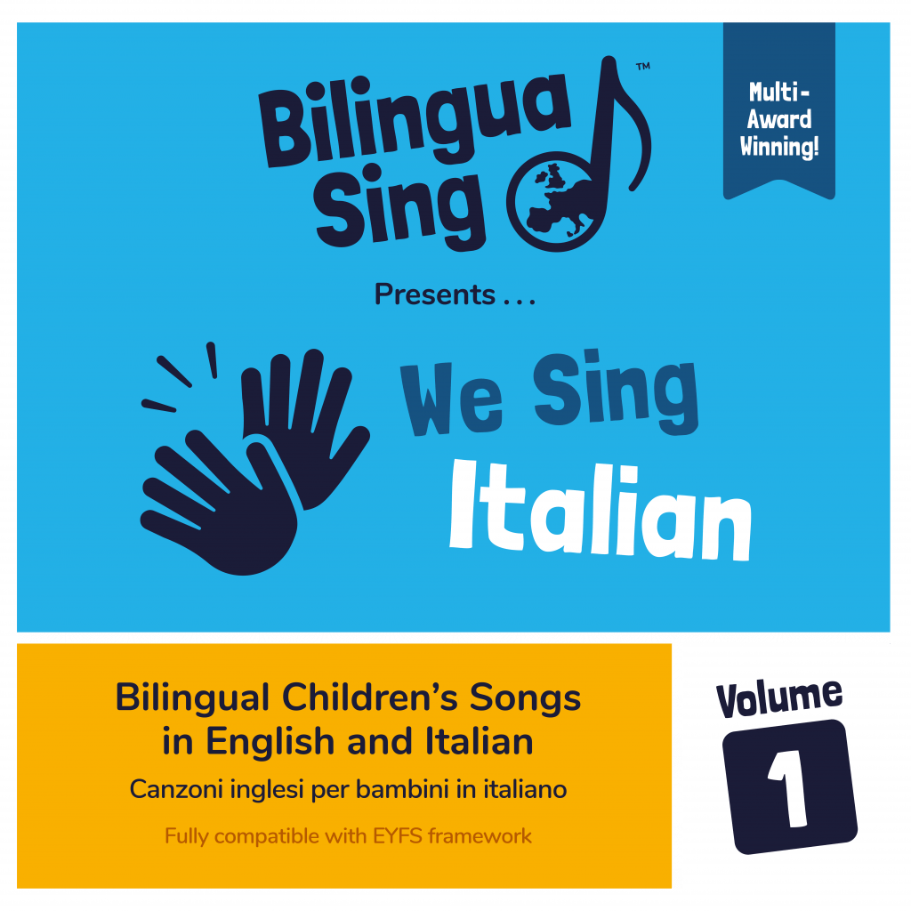 Children's songs in English and Italian